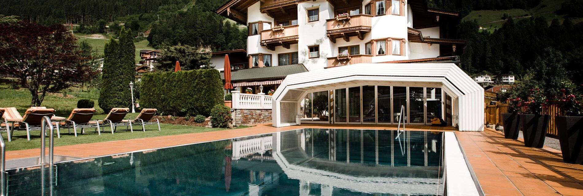 4 Star Hotel With Swimming Pool In Finkenberg