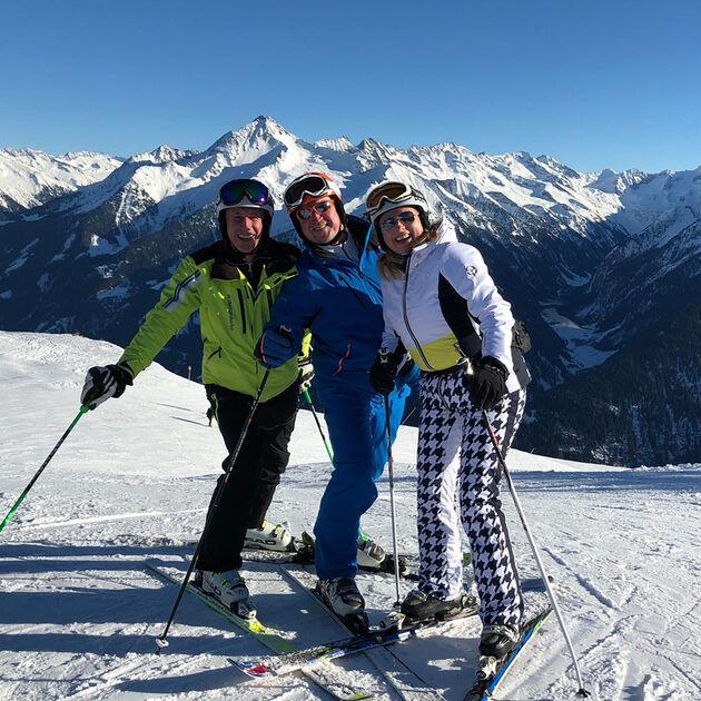 Wintersafari with Leonhard Stock